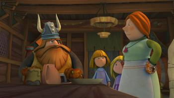 Episodio 25 (TTemporada 1) de Vicky el vikingo