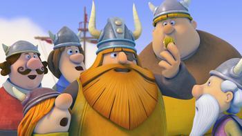 Episodio 17 (TTemporada 1) de Vicky el vikingo