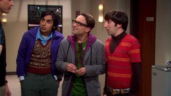 Episodio 15 (TTemporada 1) de The Big Bang Theory