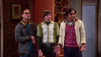 Episodio 21 (TTemporada 3) de The Big Bang Theory