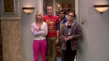 Episodio 7 (TTemporada 1) de The Big Bang Theory