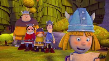 Episodio 15 (TTemporada 1) de Vicky el vikingo