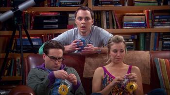 Episodio 18 (TTemporada 2) de The Big Bang Theory