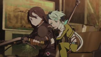 Episodio 10 (TTemporada 1) de Sword Art Online II