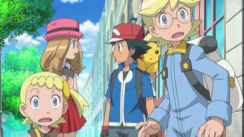 Episodio 9 (TXY) de Pokémon: XY