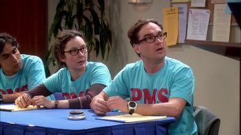 Episodio 13 (TTemporada 1) de The Big Bang Theory