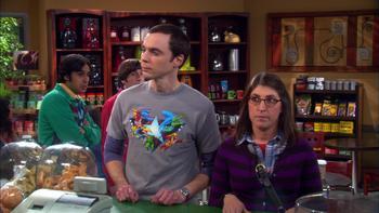 Episodio 23 (TTemporada 3) de The Big Bang Theory