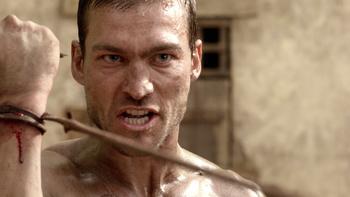 Episodio 2 (TBlood and Sand) de Spartacus