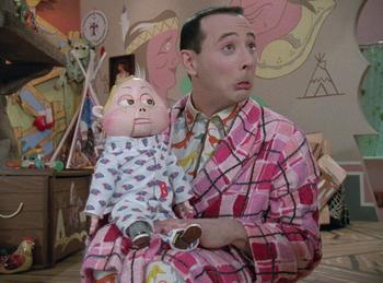 Episodio 10 (TTemporada 2) de Pee-wee's Playhouse
