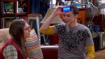 Episodio 9 (TTemporada 8) de The Big Bang Theory
