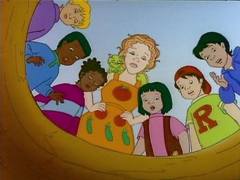 Episodio 11 (TTemporada 1) de The Magic School Bus