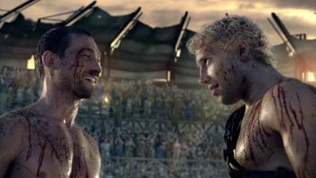 Episodio 10 (TBlood and Sand) de Spartacus