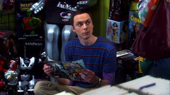 Episodio 7 (TTemporada 3) de The Big Bang Theory