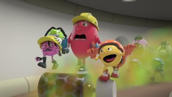 Episodio 15 (TTemporada 2) de Pac-Man y las Aventuras Fantasmales