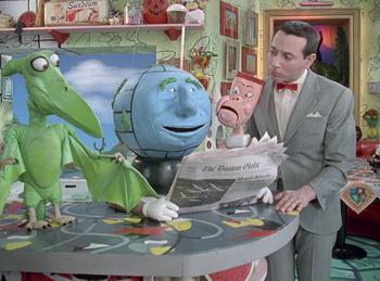 Episodio 3 (TTemporada 5) de Pee-wee's Playhouse