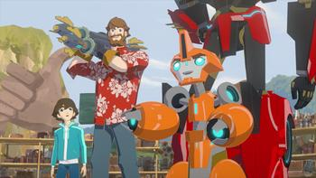 Episodio 14 (TTemporada 1) de Transformers: Robots in Disguise