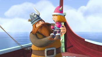 Episodio 39 (TTemporada 1) de Vicky el vikingo