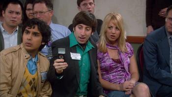Episodio 9 (TTemporada 1) de The Big Bang Theory