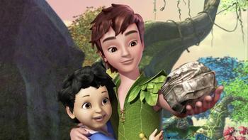 Episodio 2 (TTemporada 1) de Las nuevas aventuras de Peter Pan