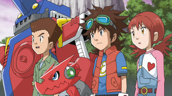 Episodio 6 (TDigimon Xros Wars: Temporada 1) de Digimon Fusion