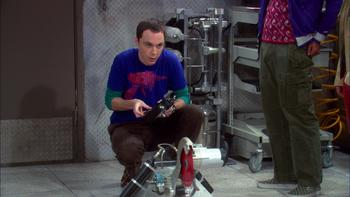 Episodio 12 (TTemporada 2) de The Big Bang Theory