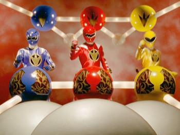 Episodio 2 (TPower Rangers Dino Thunder) de Power Rangers Dino Thunder