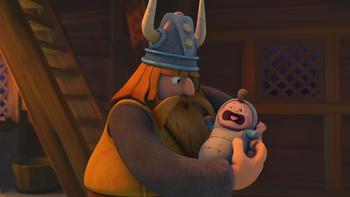 Episodio 9 (TTemporada 1) de Vicky el vikingo