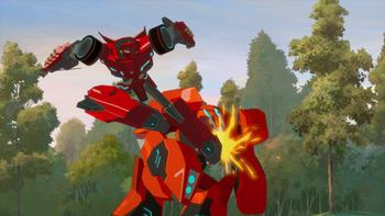 Episodio 4 (TTemporada 1) de Transformers: Robots in Disguise