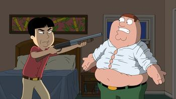 Episodio 16 (TTemporada 9) de Family Guy