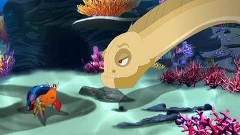 Episodio 10 (TTemporada 2) de H2O: Aventuras de sirenas