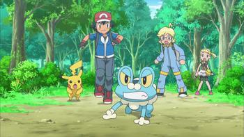 Episodio 3 (TXY) de Pokémon: XY