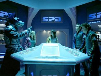 Episodio 3 (TPower Rangers S.P.D.) de Power Rangers S.P.D.