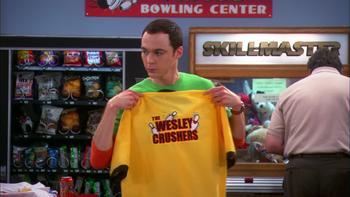 Episodio 19 (TTemporada 3) de The Big Bang Theory