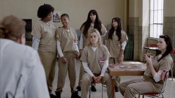 Episodio 10 (TTemporada 1) de Orange Is the New Black