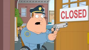 Episodio 20 (TTemporada 11) de Family Guy