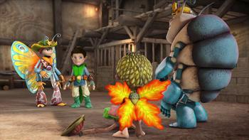 Episodio 9 (TTemporada 1) de Tree Fu Tom