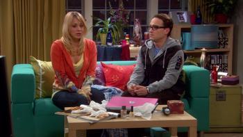 Episodio 17 (TTemporada 1) de The Big Bang Theory