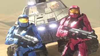 Episodio 7 (TRed vs. Blue: The Blood Gulch Chronicles) de Red vs. Blue