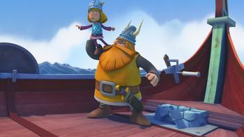 Episodio 5 (TTemporada 1) de Vicky el vikingo