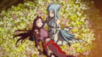 Episodio 25 (TTemporada 1) de Sword Art Online II