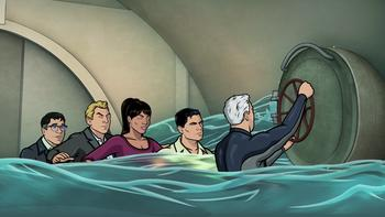 Episodio 13 (TTemporada 4) de Archer