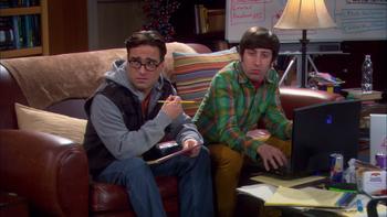 Episodio 12 (TTemporada 4) de The Big Bang Theory