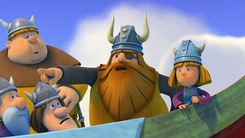 Episodio 23 (TTemporada 1) de Vicky el vikingo