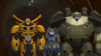 Episodio 26 (TTemporada 1) de Transformers Prime